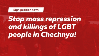 Make your voice heard regarding Chechnya