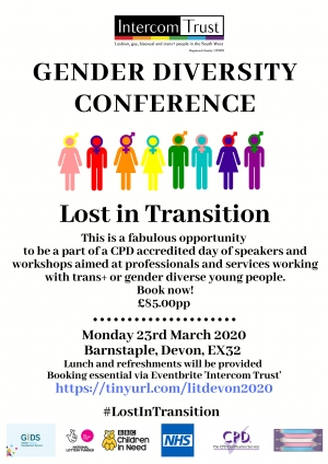 'Lost in Transition' Gender Diversity Conference - North Devon