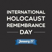 International Holocaust Remembrance Day - Friday 27th January 2016